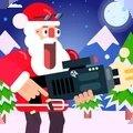 跳动圣诞老人