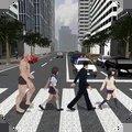 愤怒过马路