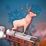 动物滑雪冒险