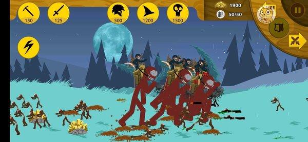 火柴人战争僵尸版有道具下载-火柴人战争僵尸版无限钻石下载