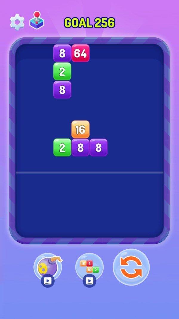 合并方块拼图