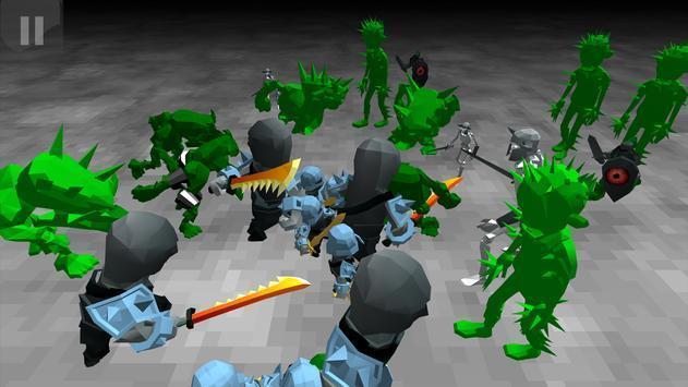 僵尸军队战斗模拟