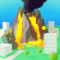 火山破坏城市