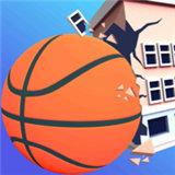 巨型篮球城市破坏