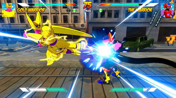 超级龙战士英雄
