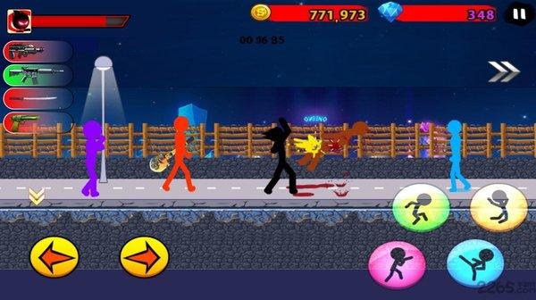 愤怒的火柴人7破解版无限钻石-愤怒的火柴人7无限金币版手机下载
