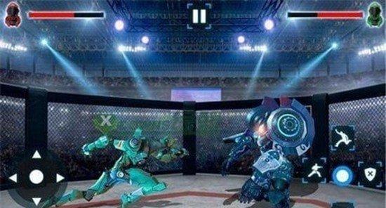 战场机器人战斗