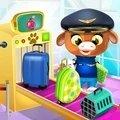 动物的机场游戏
