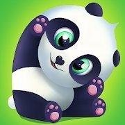 护理可爱的大熊猫