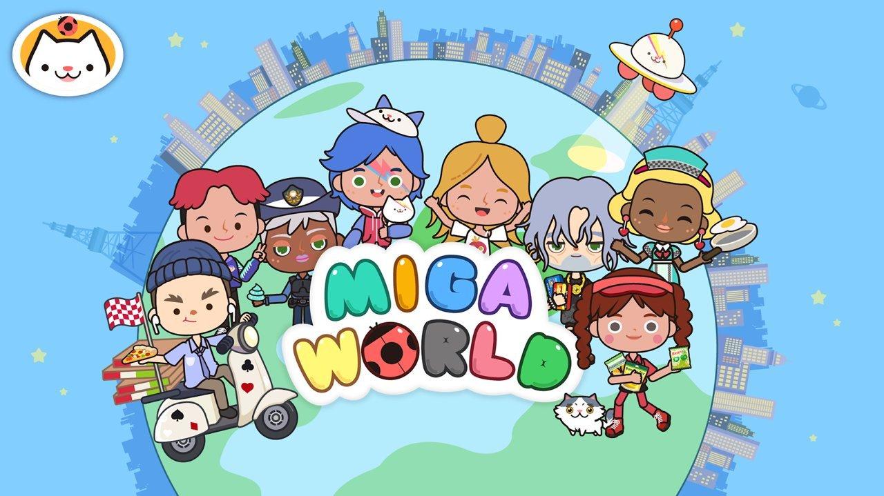 米加小镇世界免费版全部解锁下载地图