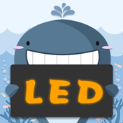 LED灯牌显示屏弹幕