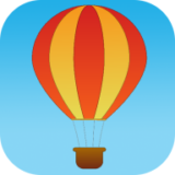 热气球上升