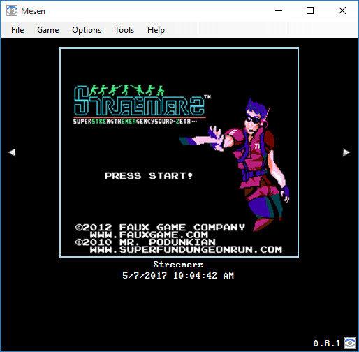 FC/NES模拟器Mesen中文汉化版