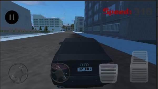 奥迪城市驾驶