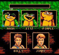 忍者蛙与双截龙修改版
