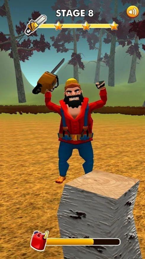 有趣的伐木工