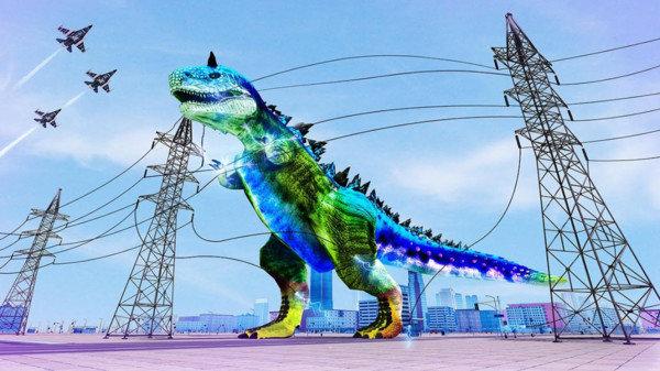 机械恐龙机器人