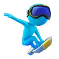 滑板冲浪特技