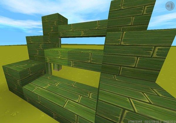 迷你世界竹板小屋