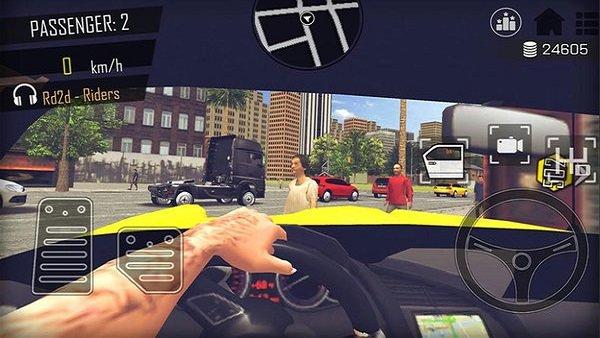 开放式出租车司机破解版下载-开放式出租车司机内购破解版下载