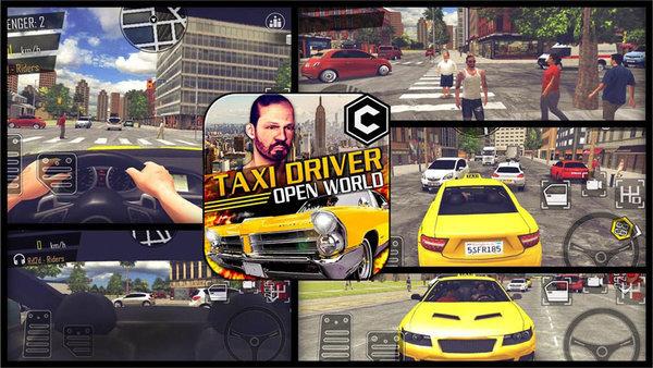 开放式出租车司机破解版