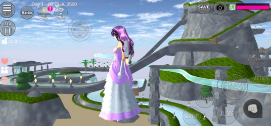樱花校园模拟器更新了上海城堡