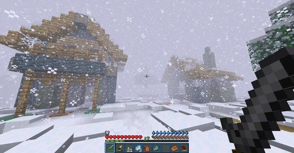 我的世界冻土世界模组