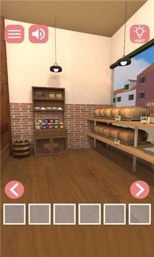 逃脱面包店