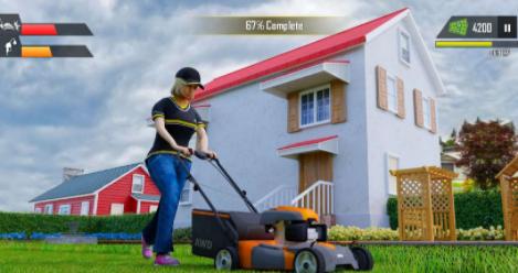 草坪割草机模拟器