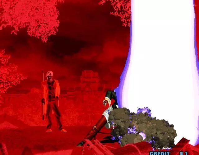拳皇2002魔幻二截图