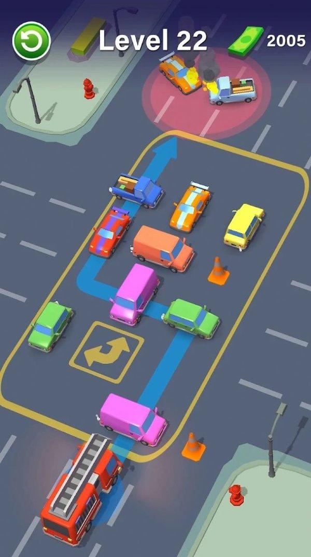 汽车拥堵拼图